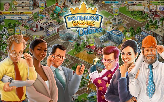 Big Business - игра для для iPad, iPhone на IOS - для планшетов