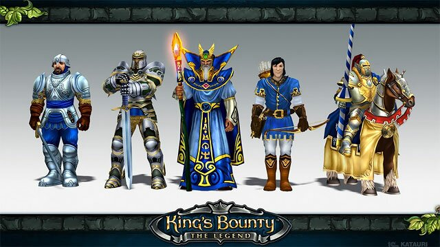 Kings Bounty - игра для  iPad, iPhone на IOS